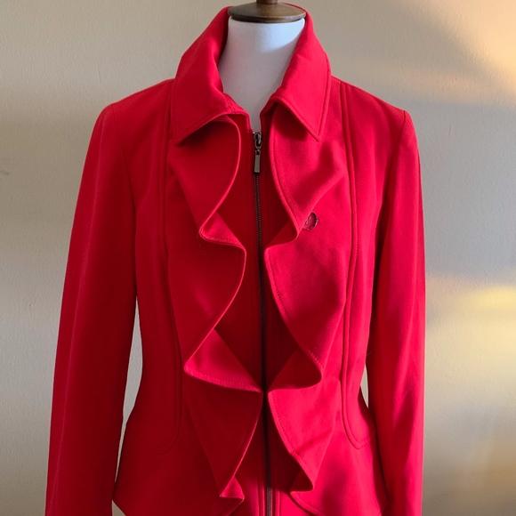 Tribal Jackets & Blazers - Tribal Red Medium Weight Jacket